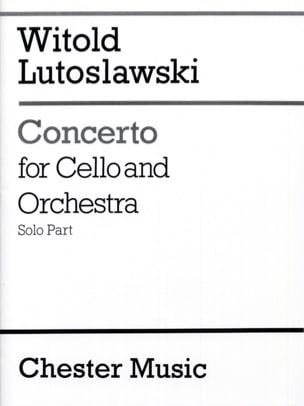 Concerto for cello and orchestra - Solo LUTOSLAWSKI laflutedepan