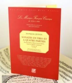Sonates en trio et à 4 parties - Oeuvre 11 laflutedepan