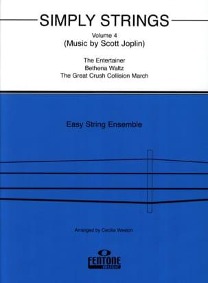 Simply Strings, vol 4 - String ensemble Cecilia Weston laflutedepan