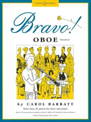 Bravo ! Oboe Carol Barratt Partition Hautbois - laflutedepan