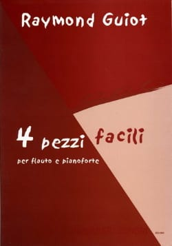 4 Pezzi Facili Raymond Guiot Partition laflutedepan