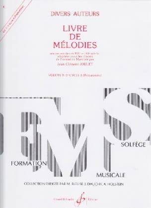 Livre de Mélodies Volume 3 - Préparatoire - laflutedepan.com