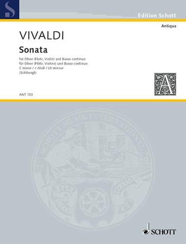 Sonate c-moll RV 53 -Oboe Flöte, Violine und Bc - laflutedepan.com