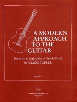 A modern approach to the guitar - Volume 5 - laflutedepan.com