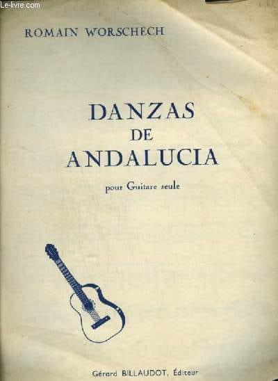 Danzas de Andalucia - Romain Worscherch - Partition - laflutedepan.com