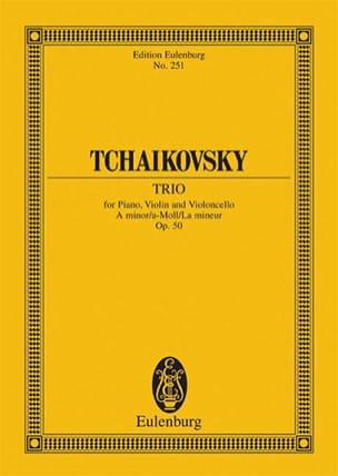 Klavier-Trio a-moll TCHAIKOVSKY Partition Petit format - laflutedepan