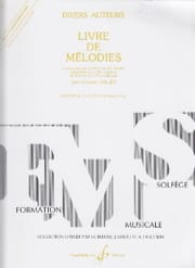 Jean-Clément Jollet - Volume 4 Melodies Book - Elementary - Partition - di-arezzo.co.uk