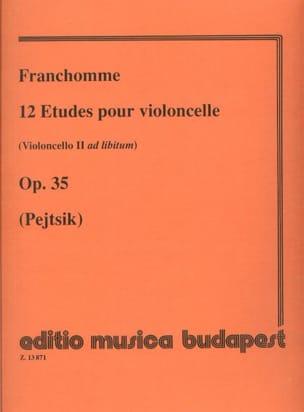 12 Etudes pour violoncelle op. 35 Auguste Franchomme laflutedepan