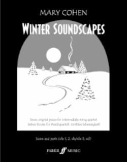 Winter Soundscapes -String quartet Mary Cohen Partition laflutedepan