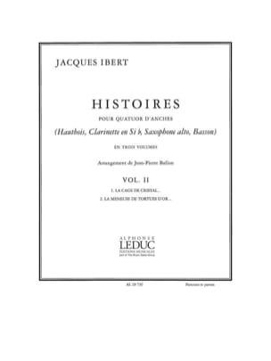 Histoires - Volume 2 -Quatuor d'anches - Cond. + parties laflutedepan