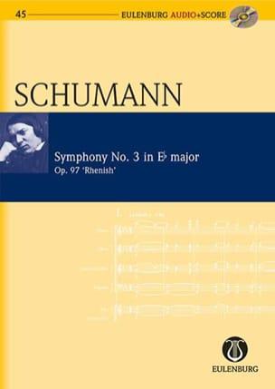 Symphonie N°3 Op. 97 En Mib Majeur SCHUMANN Partition laflutedepan