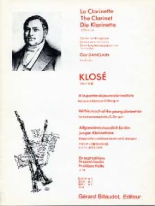 A la portée du jeune clarinettiste Vol. 5 - laflutedepan.com