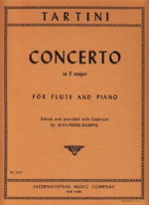 Concerto En Fa M. - Flûte et Piano - TARTINI - laflutedepan.com