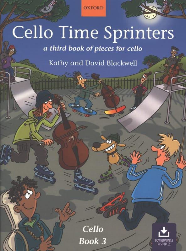 Cello Time Sprinters Book 3 - Partition - laflutedepan.com