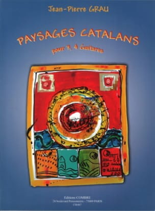Paysages catalans - Jean-Pierre Grau - Partition - laflutedepan.com