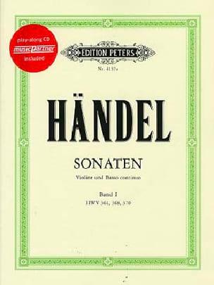 Sonates Pour Violon Volume 1 - HAENDEL - Partition - laflutedepan.com