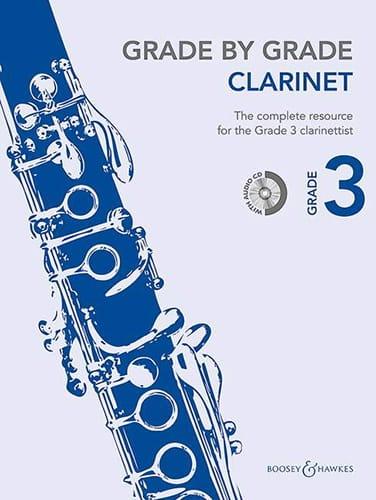 Grade by Grade Clarinet - Volume 3 - Partition - laflutedepan.com