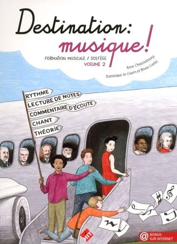 Destination Musique ! Volume 2 - Partition - laflutedepan.com