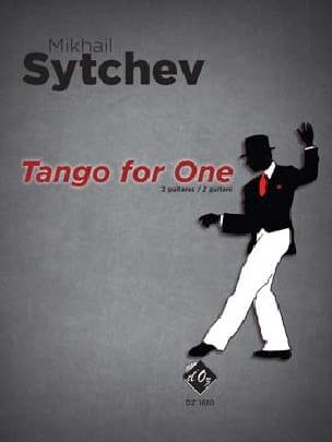 Tango for one - Mikhail SYTCHEV - Partition - laflutedepan.com