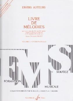 Livre de Mélodies Volume 6 - Fin D'études laflutedepan