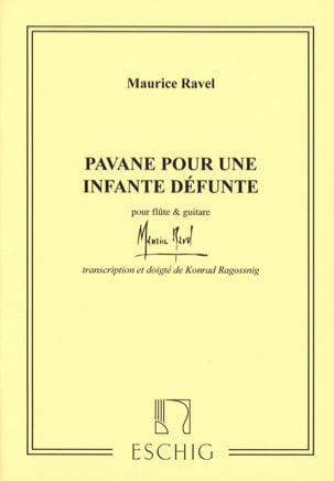 Pavane pour une infante défunte - Flûte guitare RAVEL laflutedepan
