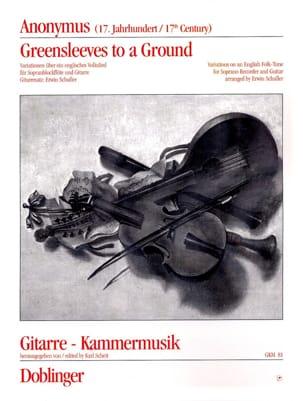 Greensleeves to a ground - Fl. à Bec Soprano et Guitare laflutedepan