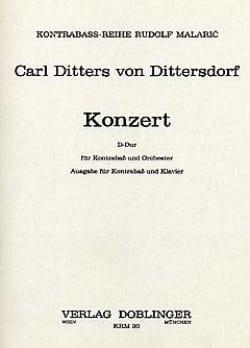 Konzert in D Carl Ditters von Dittersdorf Partition laflutedepan