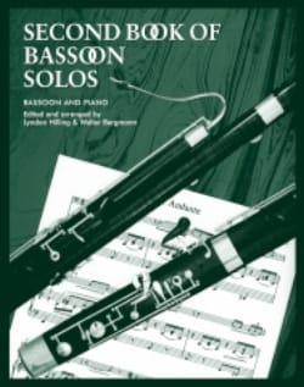 Second Book Of Bassoon Solos laflutedepan