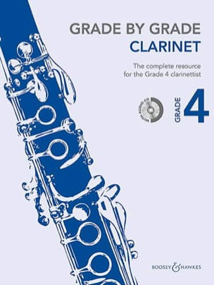 Grade by Grade Clarinet - Volume 4 Partition laflutedepan