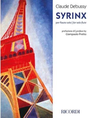 Syrinx DEBUSSY Partition Flûte traversière - laflutedepan