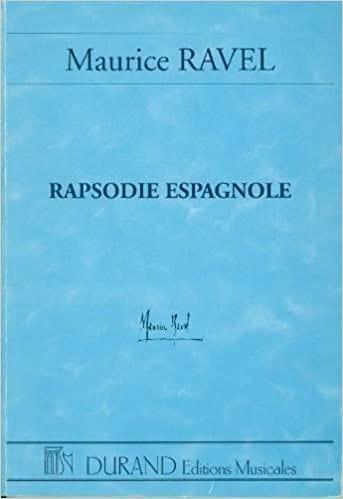 Rapsodie espagnole - Conducteur - RAVEL - Partition - laflutedepan.com