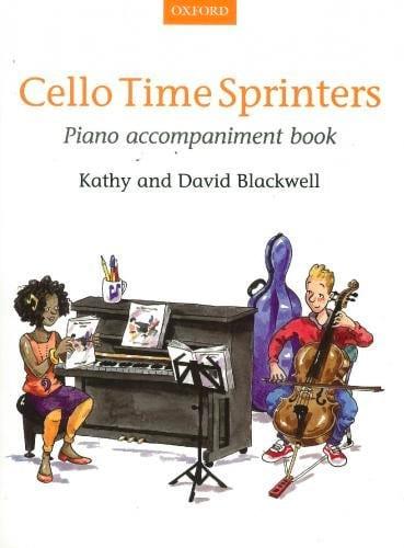Cello Time Sprinters - Piano Accompagnement - laflutedepan.com