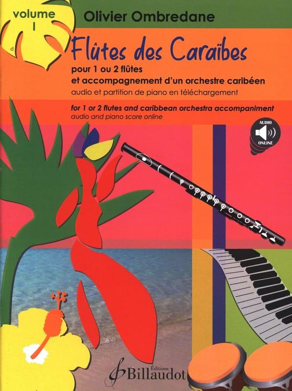 Flûtes des Caraïbes - Volume 1 - Olivier Ombredane - laflutedepan.com