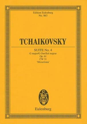 Suite N° 4 Mozartiana G-Dur, Opus 61 TCHAIKOVSKY laflutedepan