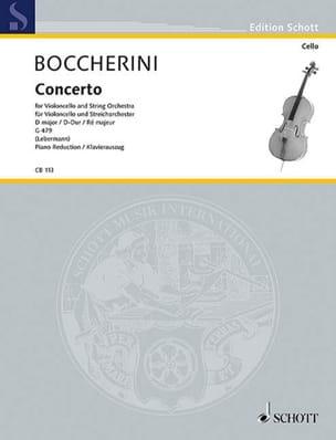 Concerto Violoncelle n° 2 ré majeur G. 479 BOCCHERINI laflutedepan