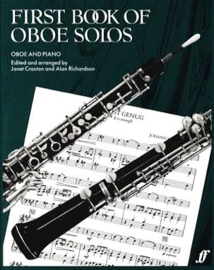 First book of Oboe solos Craxton Janet / Richardson Alan laflutedepan