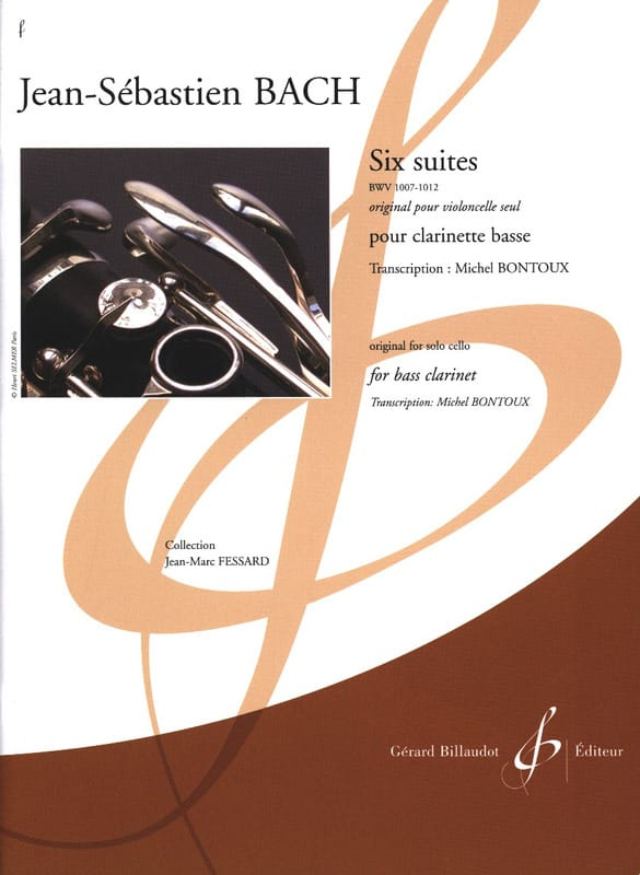 Six Suites - BWV 1007-1012 - Johann Sebastian Bach - laflutedepan.com