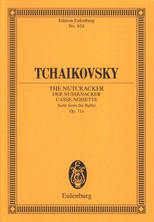 Nußknacker-Suite TCHAIKOVSKY Partition Petit format - laflutedepan