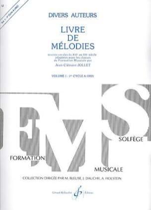 Livre de Mélodies Volume 1 - Im2 Jean-Clément Jollet laflutedepan
