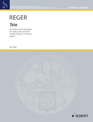 Max Reger - Trio h-moll, op. 2 - Violine Viola Klavier - Partition - di-arezzo.com