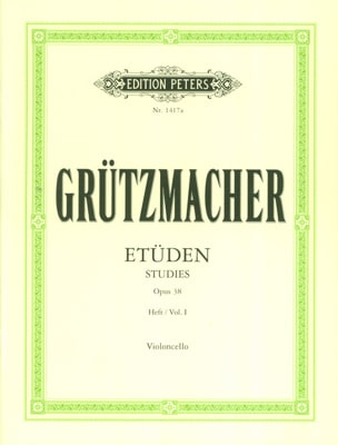 24 Etüden op. 38 - Heft 1 Friedrich Grützmacher laflutedepan