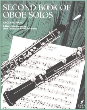 Second book of oboe Solos Craxton Janet / Richardson Alan laflutedepan
