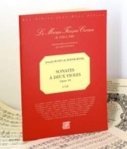 Sonates à deux violes op. 10 - 1725 BOISMORTIER Partition laflutedepan