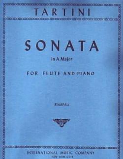 Sonata in A major - Flute piano TARTINI Partition laflutedepan