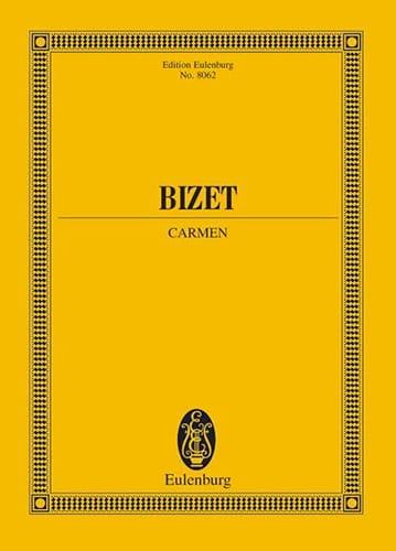 Carmen - BIZET - Partition - Grand format - laflutedepan.com