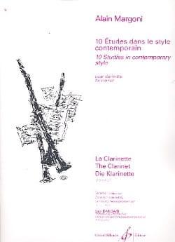 10 Etudes dans le style contemporain Alain Margoni laflutedepan
