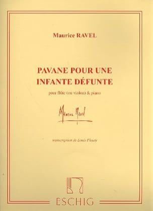 Pavane pour une infante défunte - Flûte ou violon piano laflutedepan