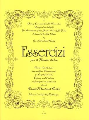 Essercizi per il flauto dolce Ernst Kölz Partition laflutedepan