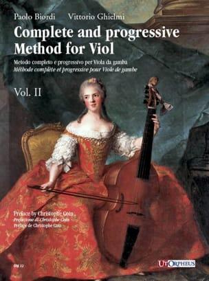 Biordi Paolo / Ghielmi Vittorio - Metodo completo e progressivo - Volume 2 - Partition - di-arezzo.fr