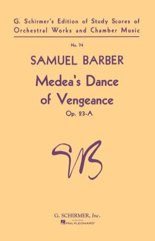 Samuel Barber - Danza de venganza de Medea op. 23-A - Partition - di-arezzo.es